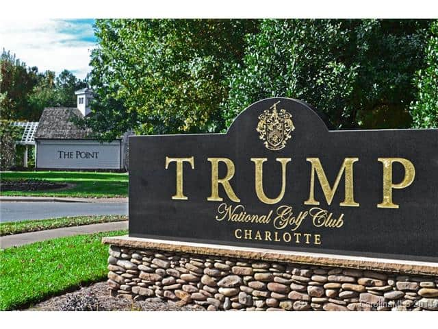 donald trump lake norman